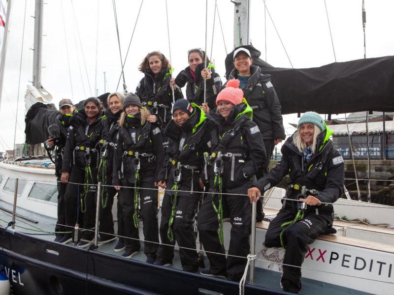 Kirana Agustina dalam misi eXXXpedition 2019