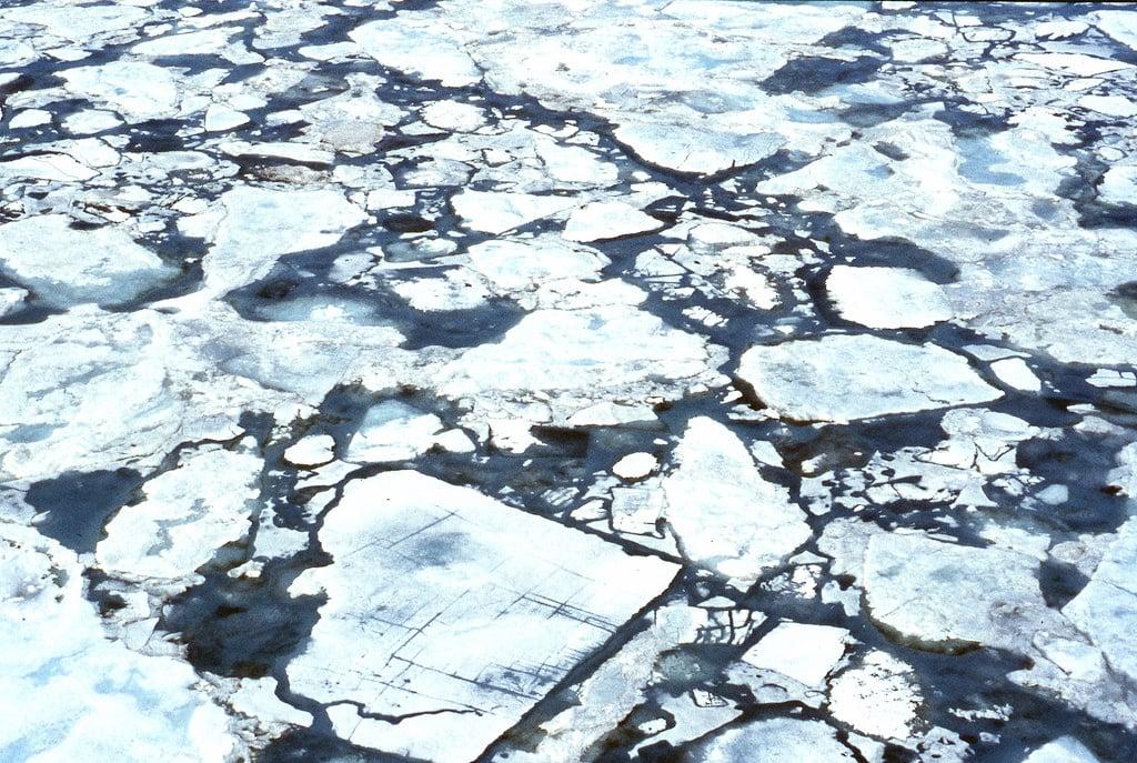 Lapisan es Arktik