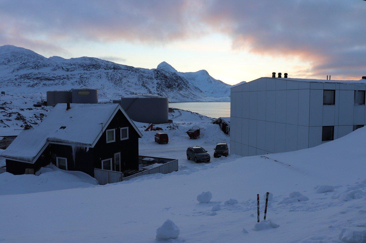 Nuuk, ibu kota Greenland