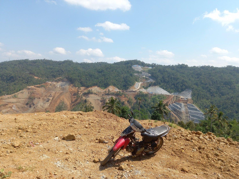 Lokasi pembangunan Bendungan Bener